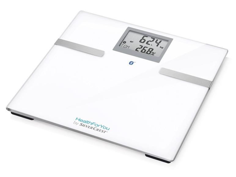 Diagnostická váha sbluetooth Silvercrest SBF 75