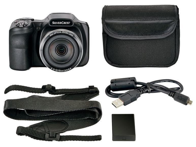 Digitální ultrazoom fotoaparát Silvercrest SKB 35 A1
