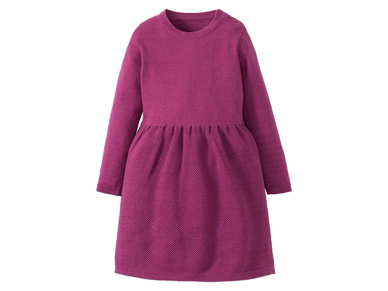 Dívčí pletené šaty Lupilu
