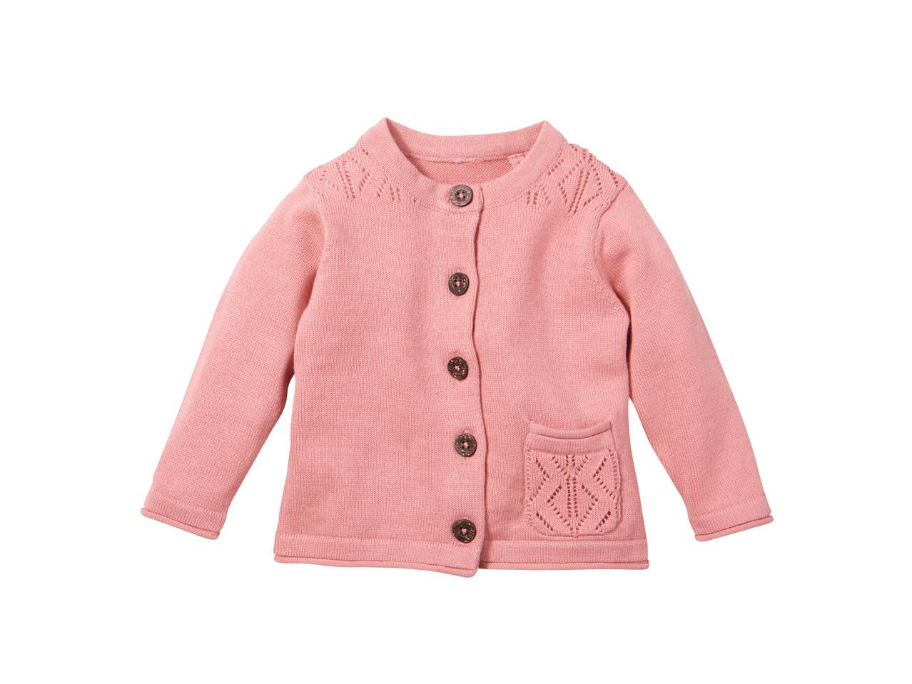 Dívčí pletený svetřík Lupilu