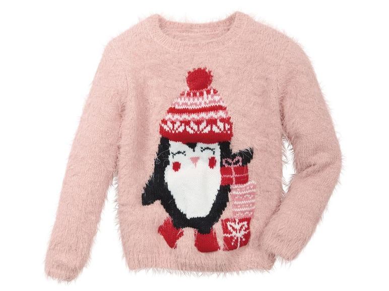 Dívčí vánoční svetr Lupilu