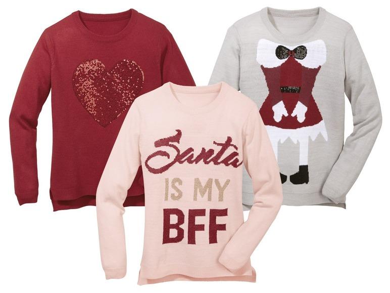 Dívčí vánoční svetr Pepperts