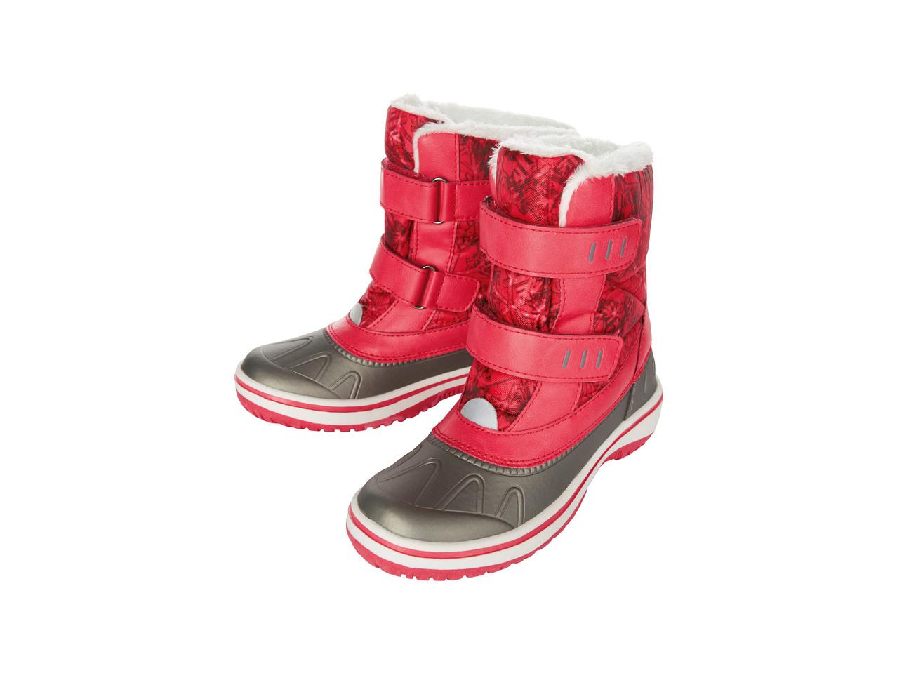 Dívčí zimní obuv Pepperts