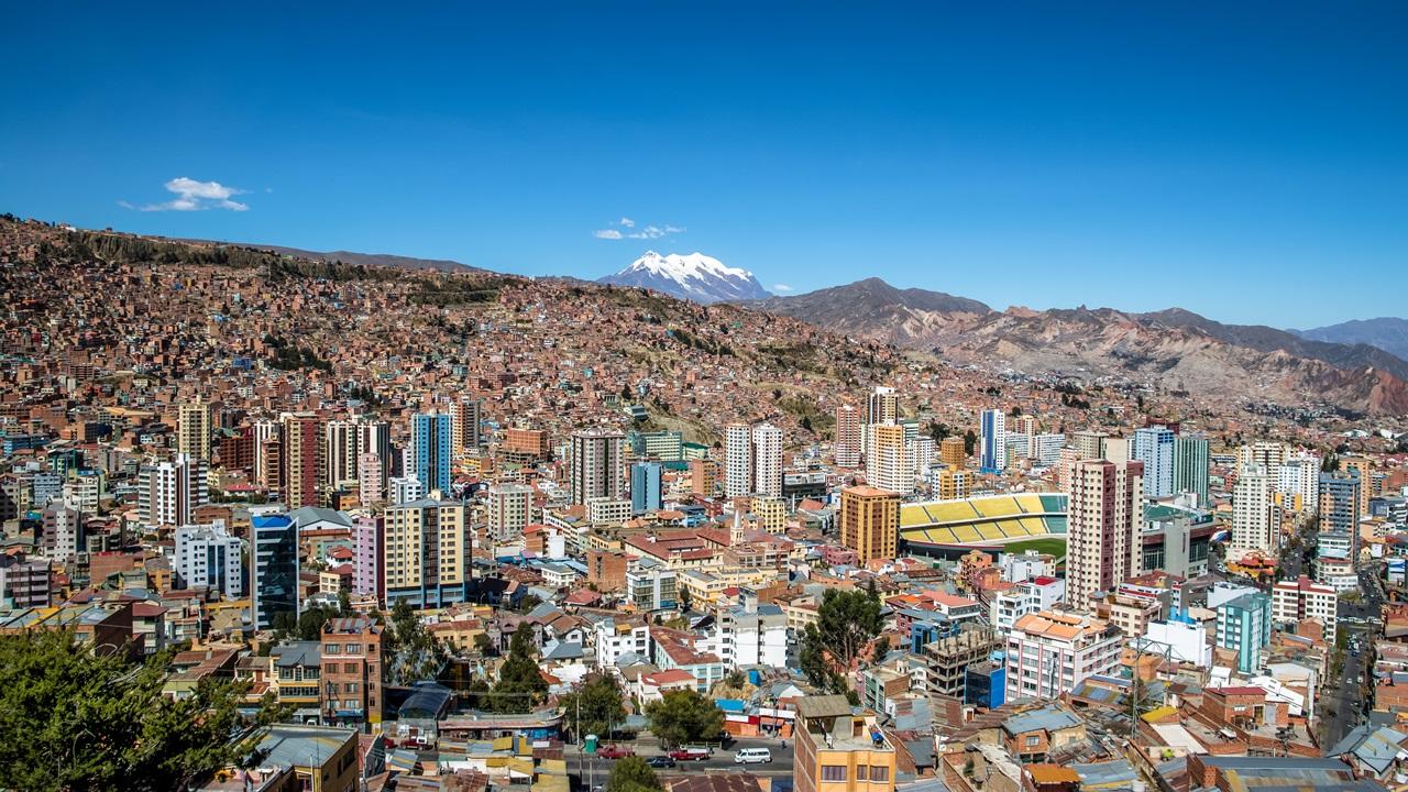 Dovolená Bolívie   © Diego Grandi   Dreamstime.com