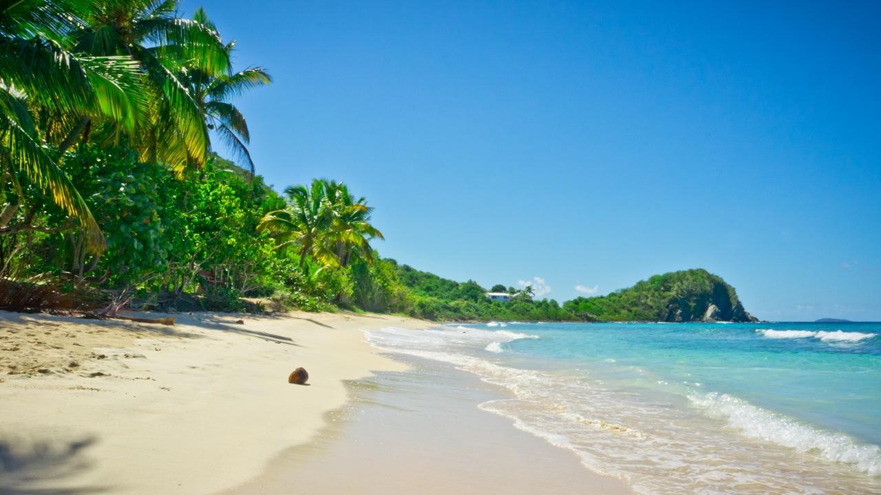 Dovolená Britské Panenské ostrovy   © Mfron   Dreamstime.com