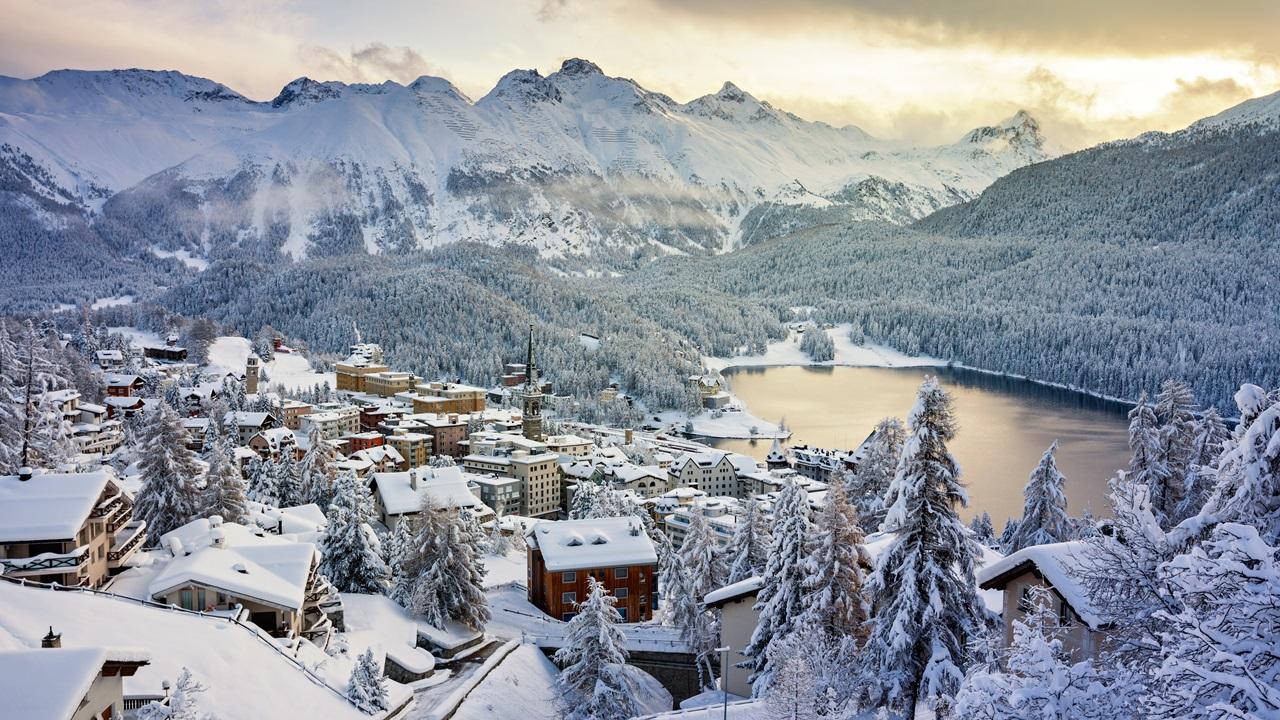 Dovolená St. Moritz   © Jan Kokes   Dreamstime.com