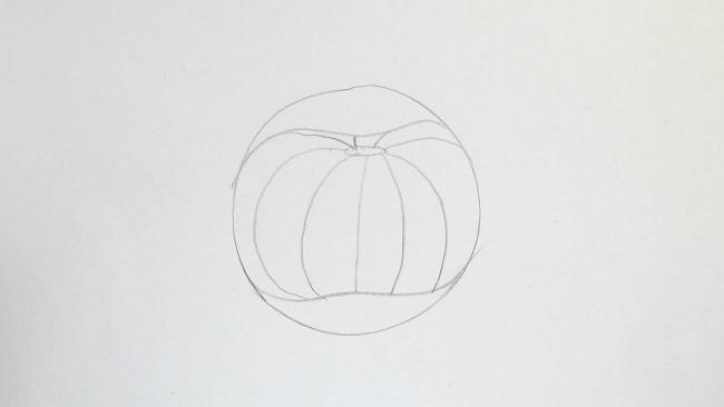 Jak nakreslit dýni