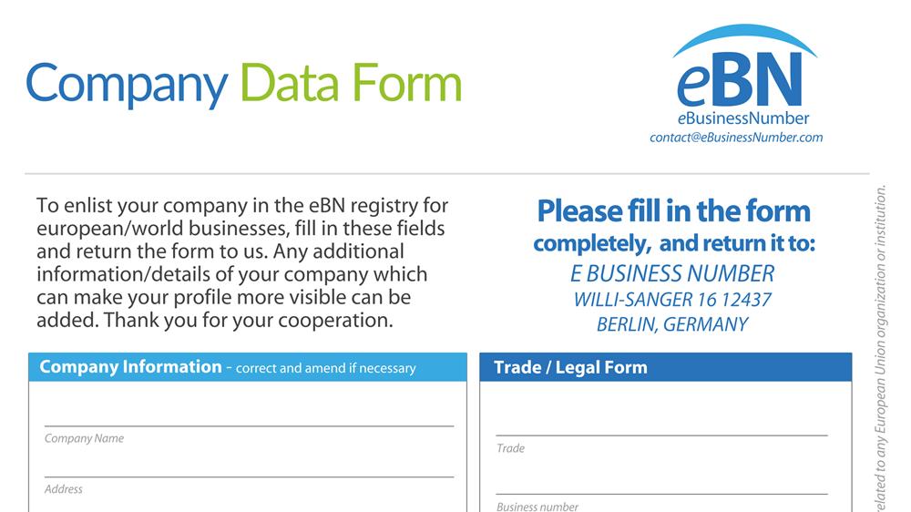 PODVOD: Dopis od eBusiness Number Registry vás bude stát 2697 eur