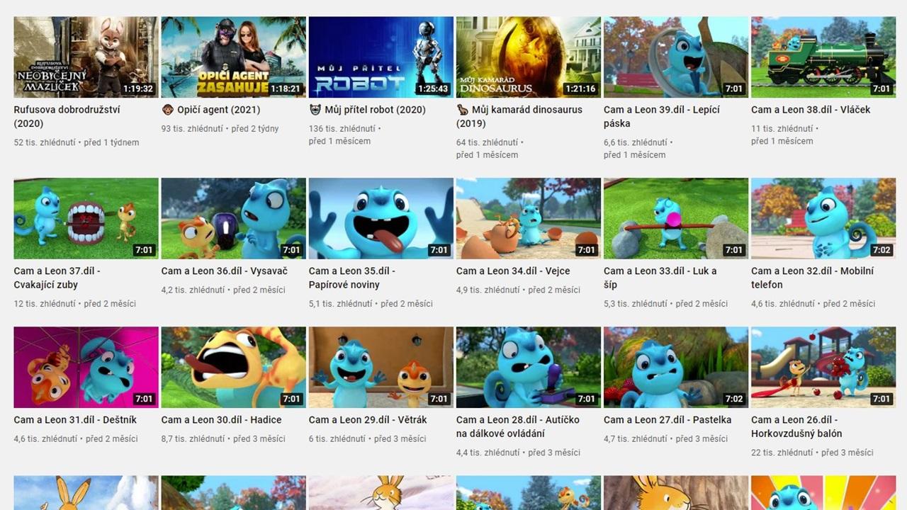 Filmy online zdarma 2021 | © YouTube