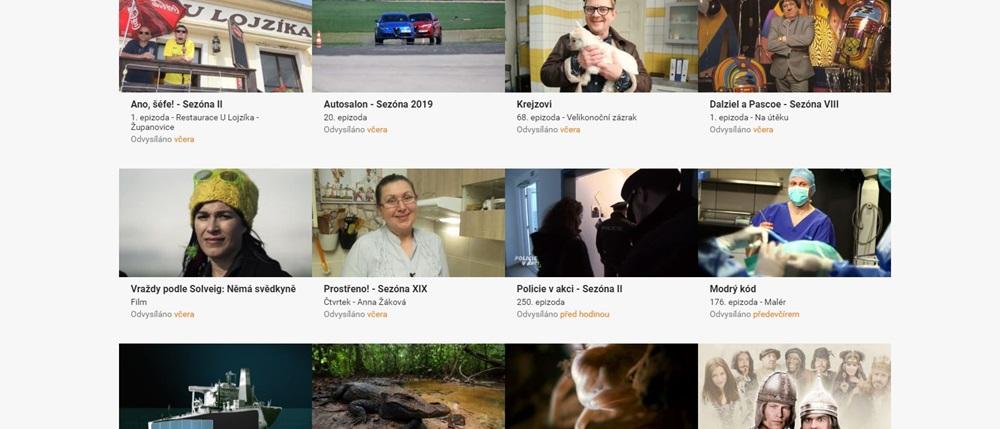 Filmy online zdarma 2019 | © TV Prima
