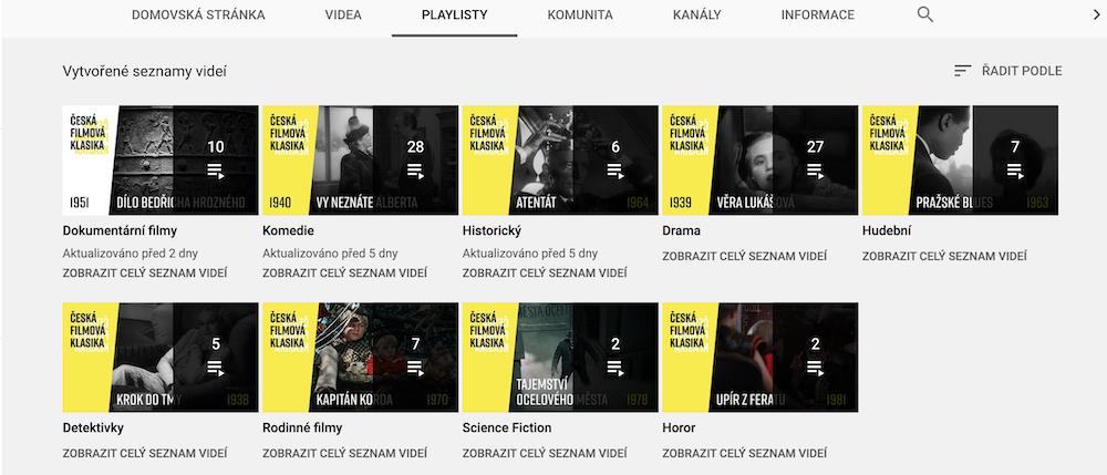 Filmy online zdarma 2020 | © Česká filmová klasika
