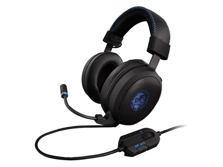 Herní sluchátka Gaming Headset RGB Silvercrest