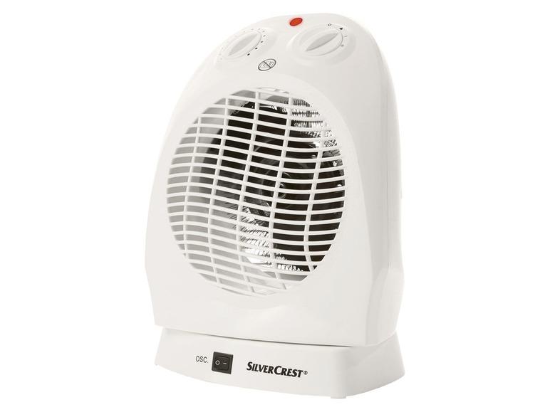 Horkovzdušný ventilátor Silvercrest SHO 2000 A1