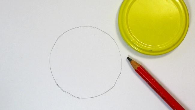 Jak nakreslit jablko