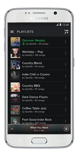 Jak funguje Spotify