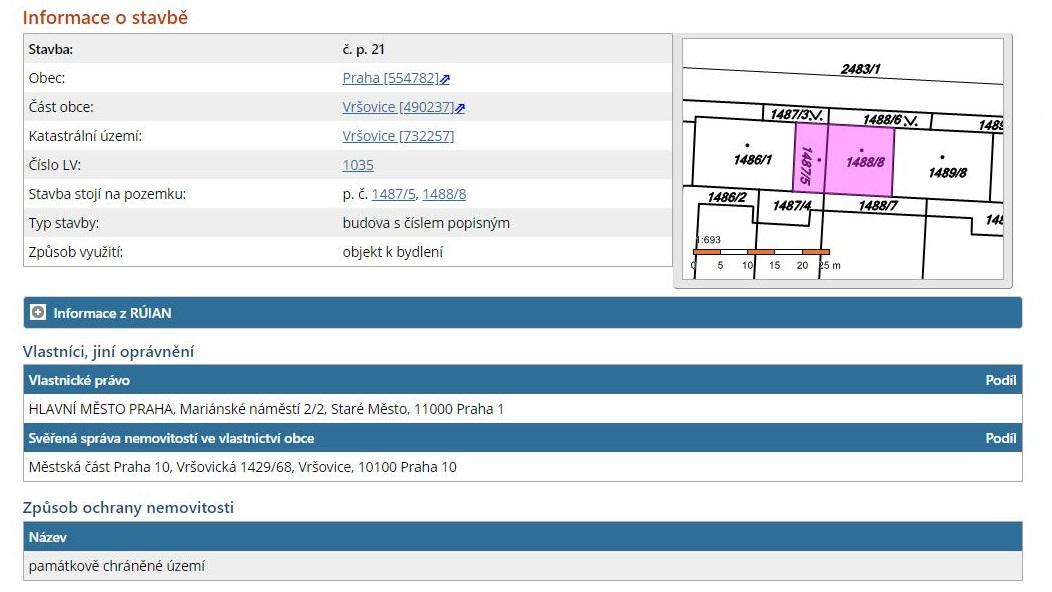 Jak hledat majitele nemovitosti