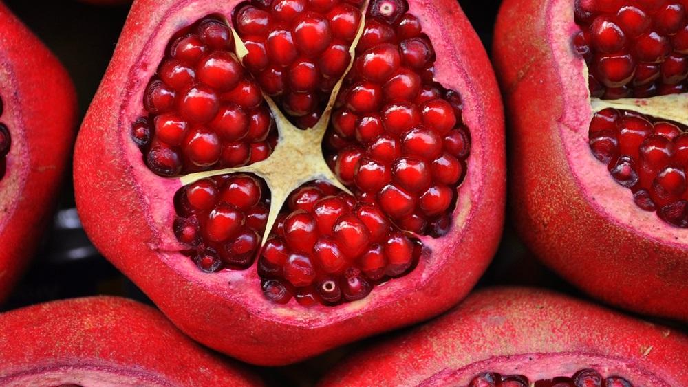Jak jíst granátové jablko