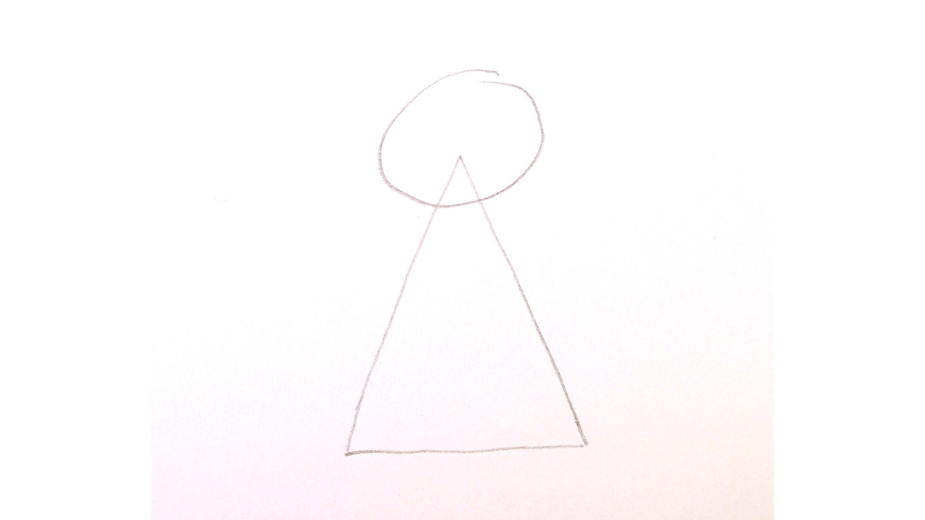 Jak nakreslit anděla