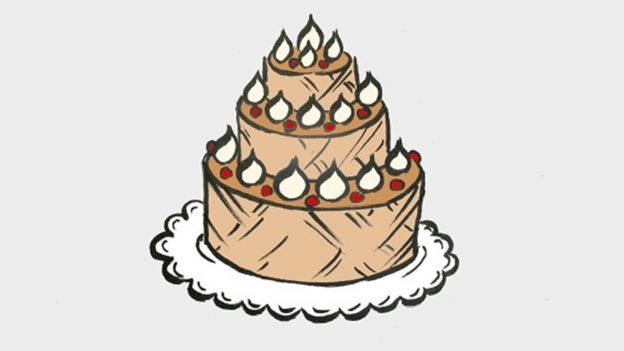 Jak nakreslit dort