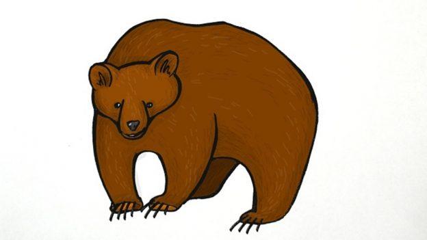Jak nakreslit medvěda