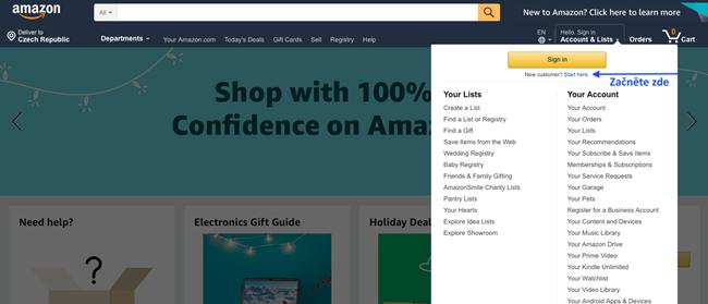Jak nakupovat na Amazon.com 2020: Kompletní návod v češtině