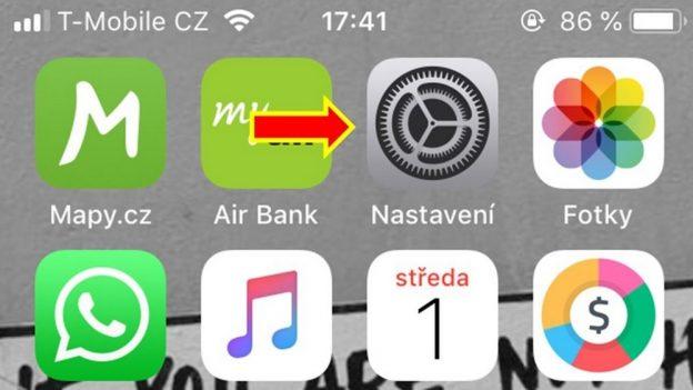 Jak nastavit vyzvánění na iPhone