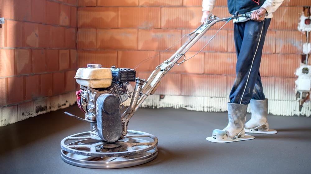 Jak opravit betonovou podlahu