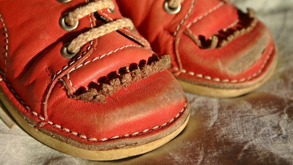 Jak opravit odřené boty