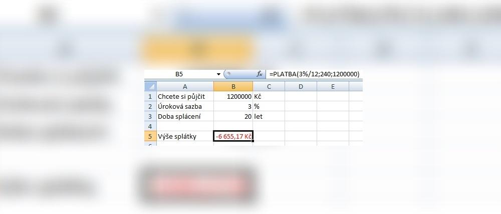 Jak se počítá hypotéka