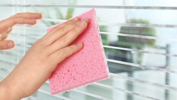 Jak umýt žaluzie