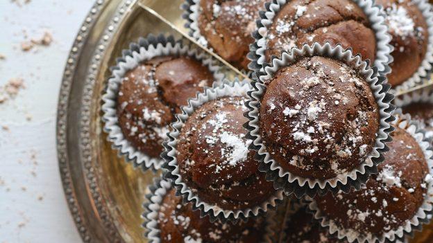 Jak upéct čokoládové muffiny