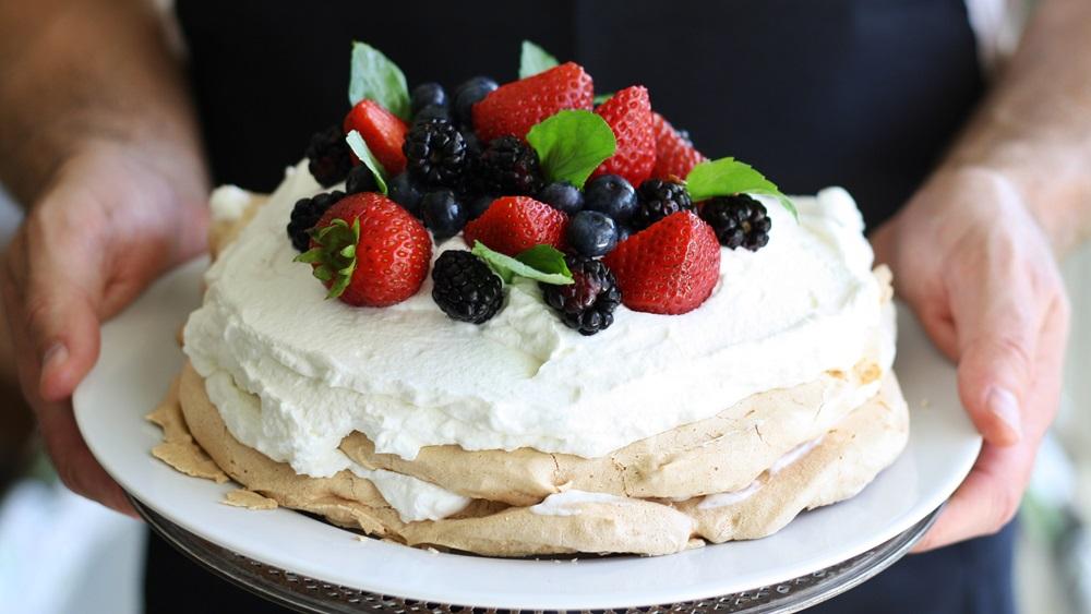 Jak upéct dort Pavlova