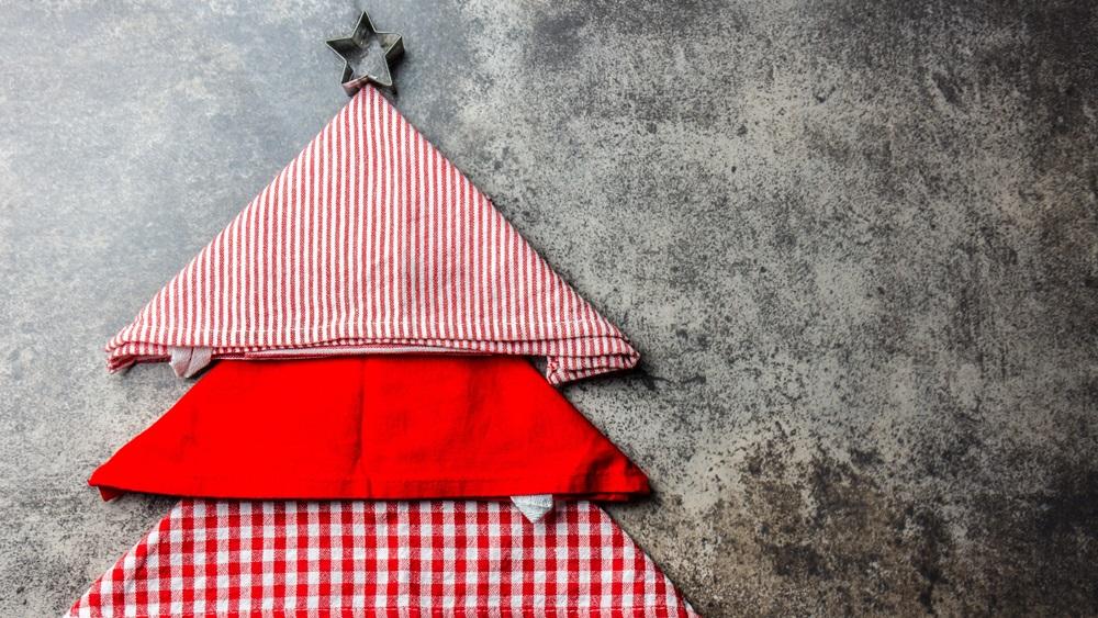 Jak ušít vánoční prostírání