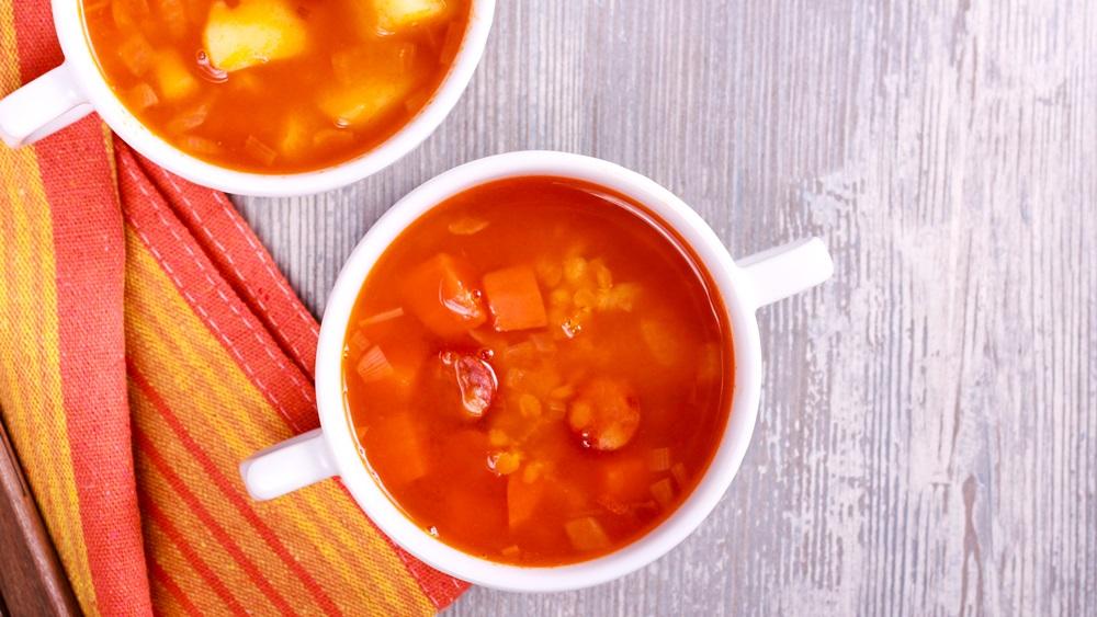 Jak uvařit frankfurtskou polévku