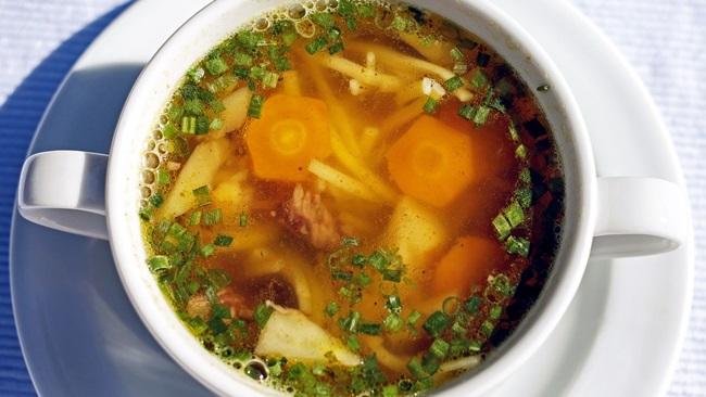 Jak uvařit nudle do polévky