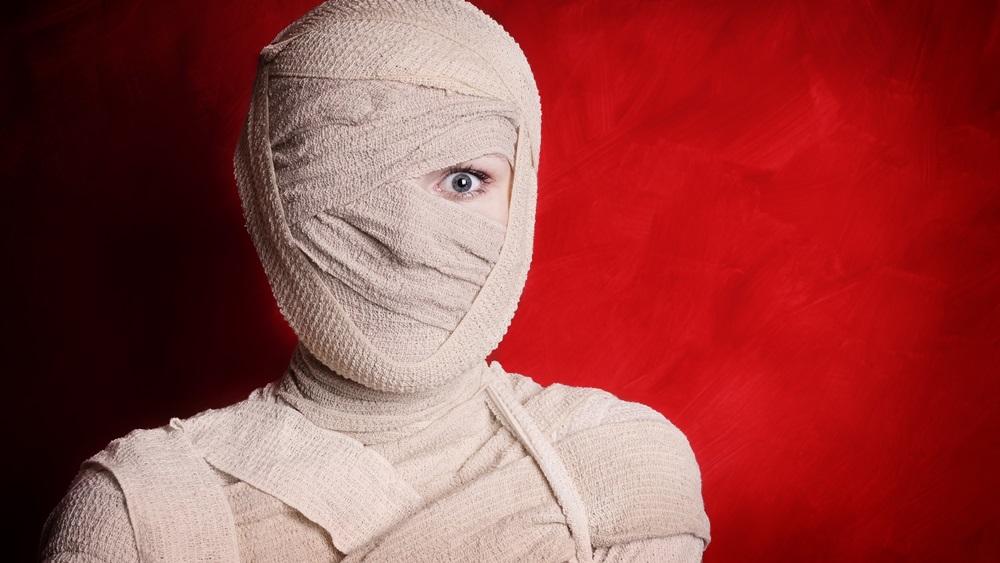 Jak vyrobit kostým mumie