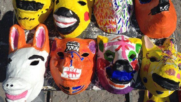 Jak vyrobit masku