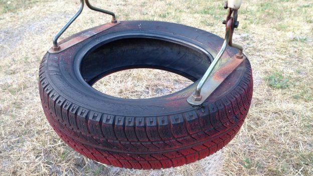 Jak využít staré pneumatiky