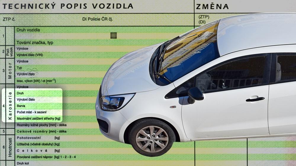Jak zjistit barvu auta