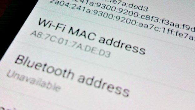 Jak zjistit MAC adresu