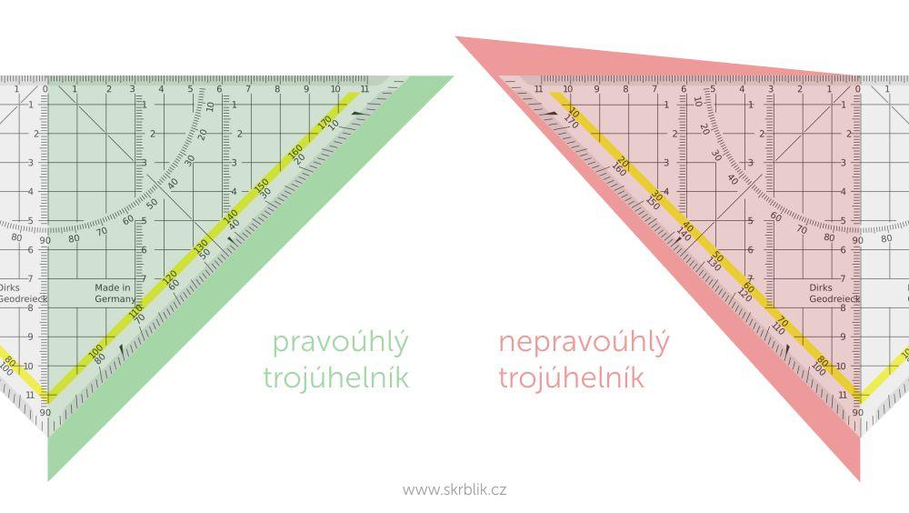 Jak zjistit, že je trojúhelník pravoúhlý