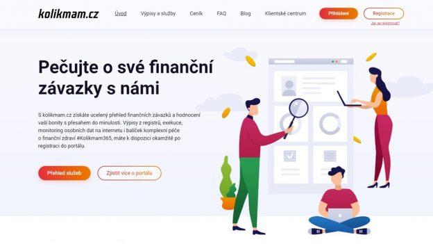 KolikMám.cz: Úvěrová zpráva zregistrů BRKI aNRKI online