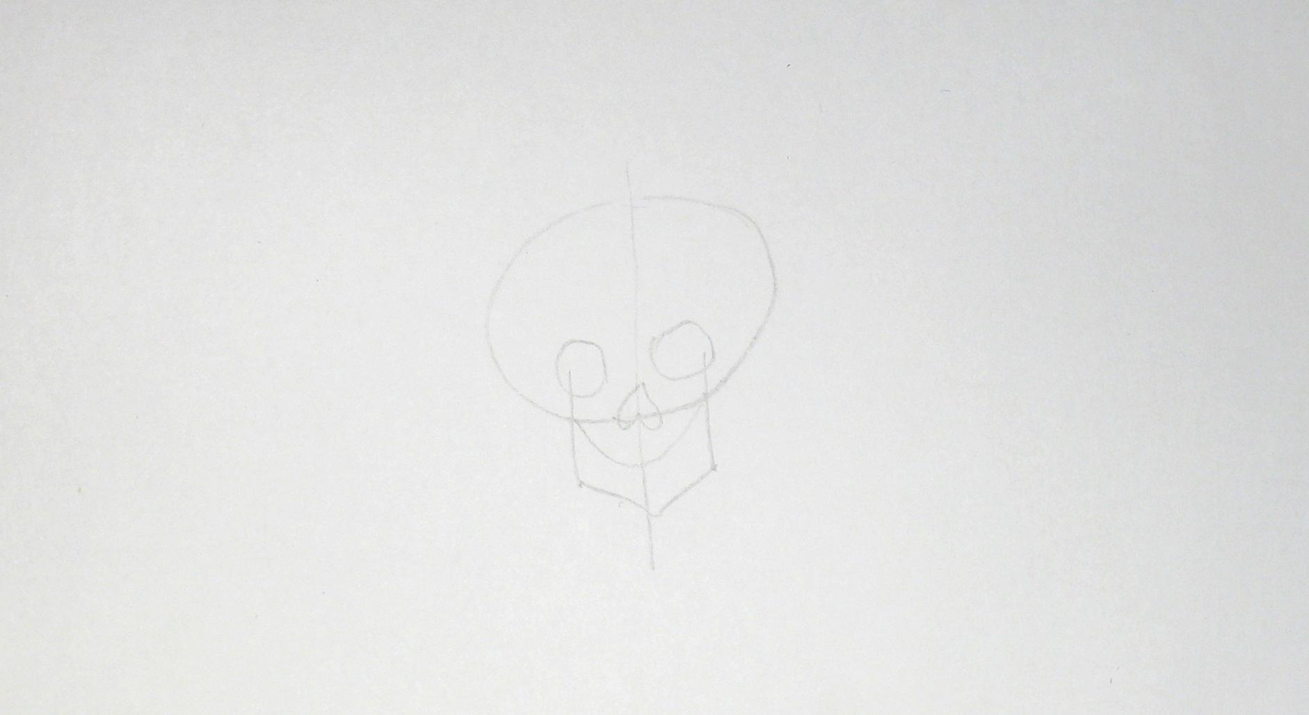 Jak nakreslit lebku