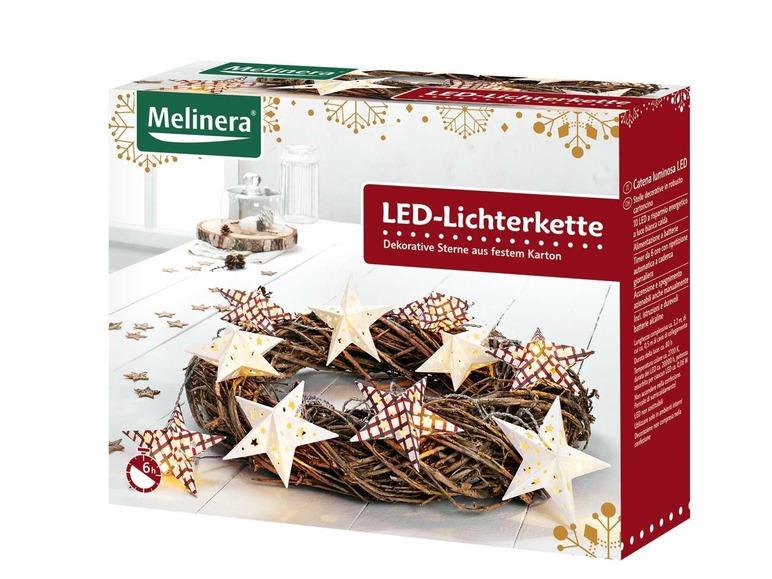 LED papírový světelný řetěz Melinera