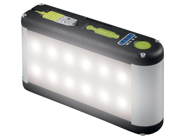 LED pracovní svítilna spowerbankou Livarnolux