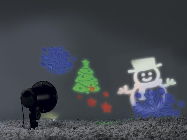 LED vánoční projektor Melinera