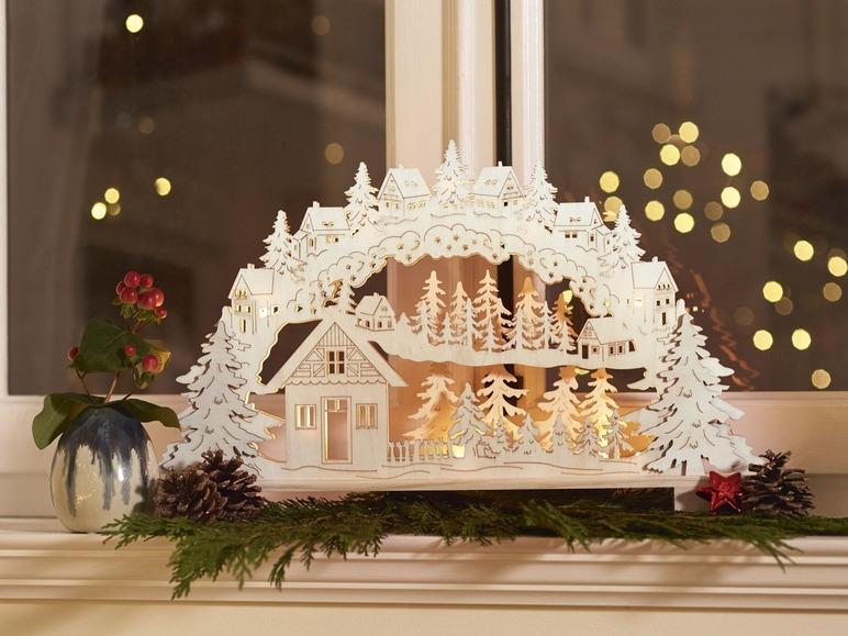 LED vánoční svícen Melinera