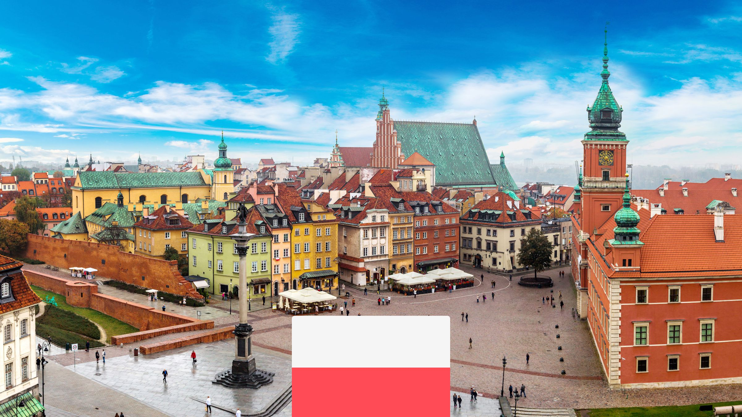 Varšava zPrahy od 756Kč: Romantický víkendový výlet až do jara 2022
