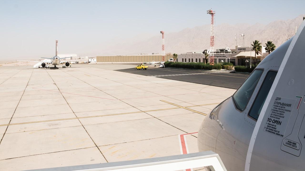Letiště Aqaba (AQJ)   © Krivosheina Elena   Dreamstime.com