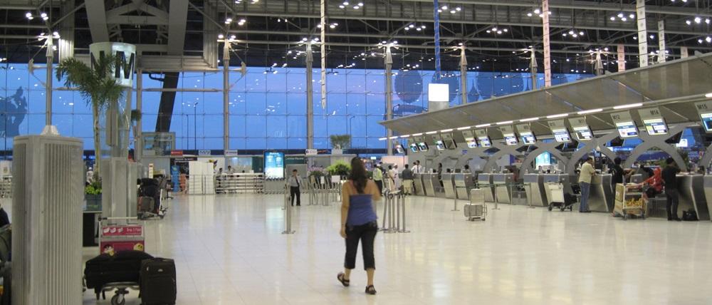 Letiště Bangkok Suvarnabhumi (BKK) | © @felixtriller | Flickr.com